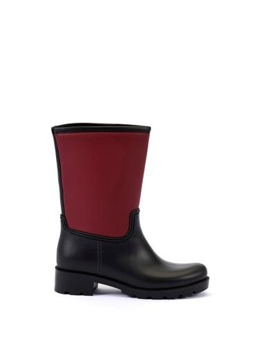 Esem ESEM B0003 Yağmur Botu Kadın Ayakkabı  Bordo